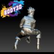 Descargar modelos 3D gratis Kakashi, BODY3D
