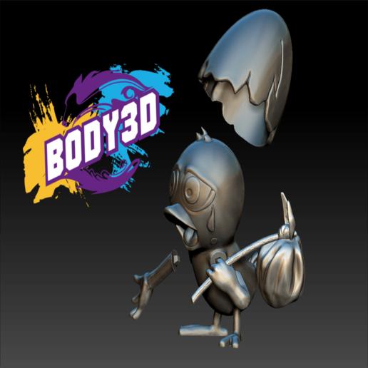 Décomposé_3.PNG.png Télécharger fichier STL gratuit Calimero • Objet pour impression 3D, BODY3D