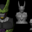gfhfghfghghfhgfhf.png Télécharger fichier STL Cell Bust 1/1 Scale - Dragon Ball • Plan imprimable en 3D, BODY3D