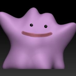 1.PNG Télécharger fichier STL gratuit Pokémon - Metamorph ( Ditto ) - Easy Print • Plan à imprimer en 3D, BODY3D