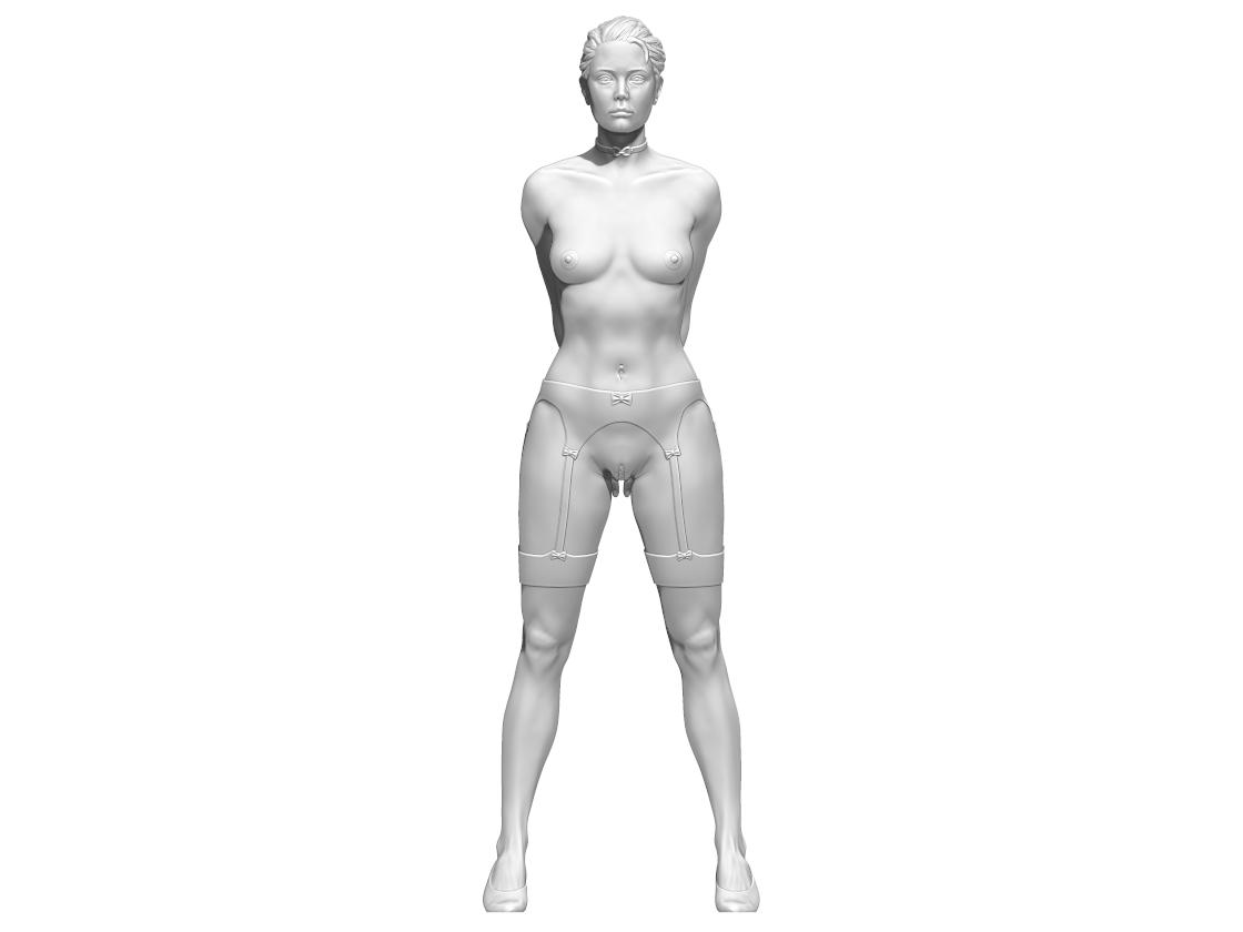 a.png Télécharger fichier STL Little Caprice Pose 2 • Objet imprimable en 3D, BODY3D