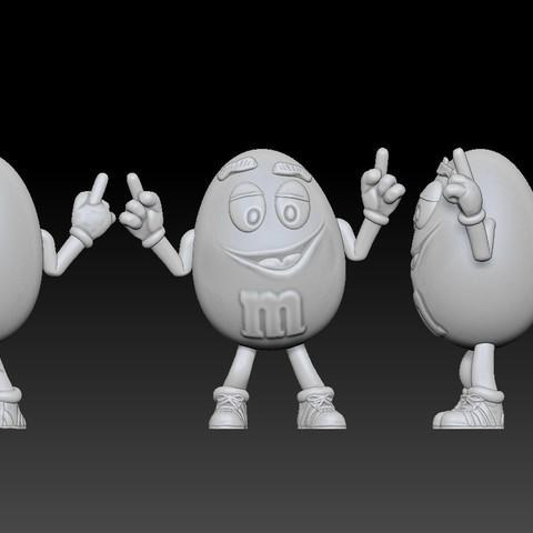 Annotation 2019-04-14 203949.jpg Télécharger fichier STL gratuit Jaune - MM's • Design pour impression 3D, BODY3D