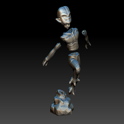 Download free STL file Saibaiman, BODY3D