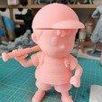 116705233_291891265230451_5547616390083719510_n.jpg Télécharger fichier STL Ness - FanArt • Modèle imprimable en 3D, BODY3D