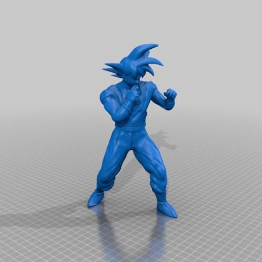 e6d9361262769a33b5440330ac9c6bde.png Télécharger fichier STL gratuit Goku Fight • Plan pour impression 3D, BODY3D