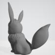 Download free STL file Pokémon - Evoli HD ( Eevee ) - Easy Print • Object to 3D print, BODY3D