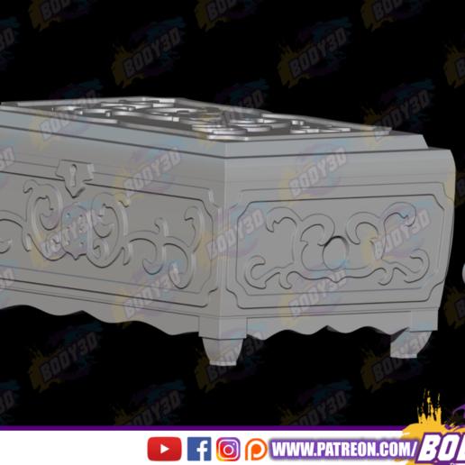 dgfsfgsdh.png Télécharger fichier STL Tapion Music Box - Dragon Ball • Plan pour impression 3D, BODY3D