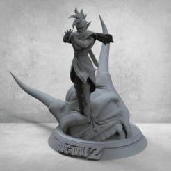 Annotation 2020-02-25 003002dkh.png Télécharger fichier STL Tapion - Dragon Ball • Objet imprimable en 3D, BODY3D
