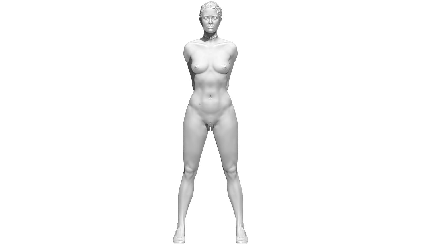 aaaaaaa.png Télécharger fichier STL Little Caprice Pose 2 • Objet imprimable en 3D, BODY3D
