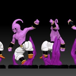 Download free 3D printing designs Kid Buu - Dragon Ball, BODY3D