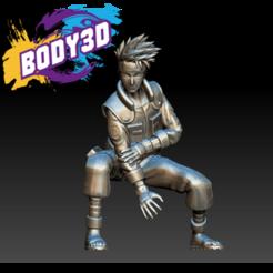 Download free STL file Kakashi • 3D print model, BODY3D