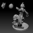 Télécharger fichier impression 3D gratuit Kid Buu - Dragon Ball, BODY3D