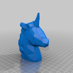 9f2609688dd2e36cdc6b4b4f7c4b12c4.png Download free STL file Unicorn - Low Poly / Voronoi • 3D print model, BODY3D