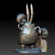 Model 2.PNG Download free STL file Mr. Krabs • 3D printable design, BODY3D