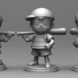 miuipi.png Télécharger fichier STL Ness - FanArt • Modèle imprimable en 3D, BODY3D