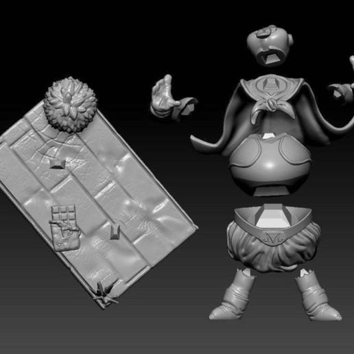 Annotation_2019-05-23_225348.jpg Télécharger fichier STL gratuit Fat Buu - Dragon Ball • Plan imprimable en 3D, BODY3D