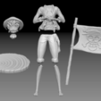 6 Parts.PNG Download free STL file Monkey D Luffy • 3D printing object, BODY3D