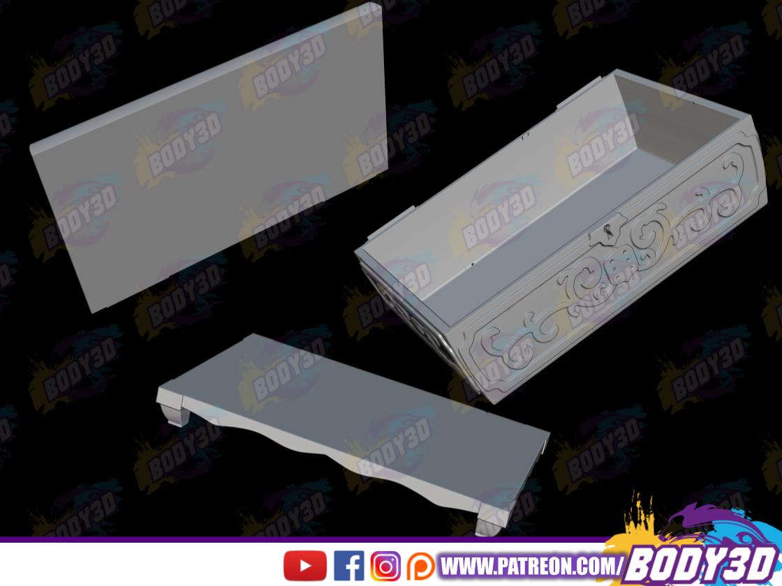 fsqfg.png Télécharger fichier STL Tapion Music Box - Dragon Ball • Plan pour impression 3D, BODY3D