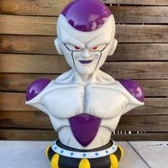 81761877_507954866493450_1022511063251288064_n.jpg Télécharger fichier STL Frieza Bust 1-1 Scale • Design imprimable en 3D, BODY3D