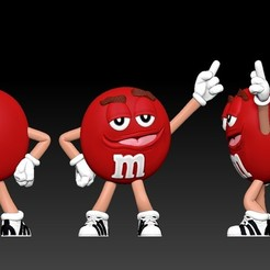 Download free 3D model Red - MM's, BODY3D