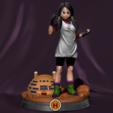 Télécharger fichier impression 3D Videl - Dragon Ball, BODY3D