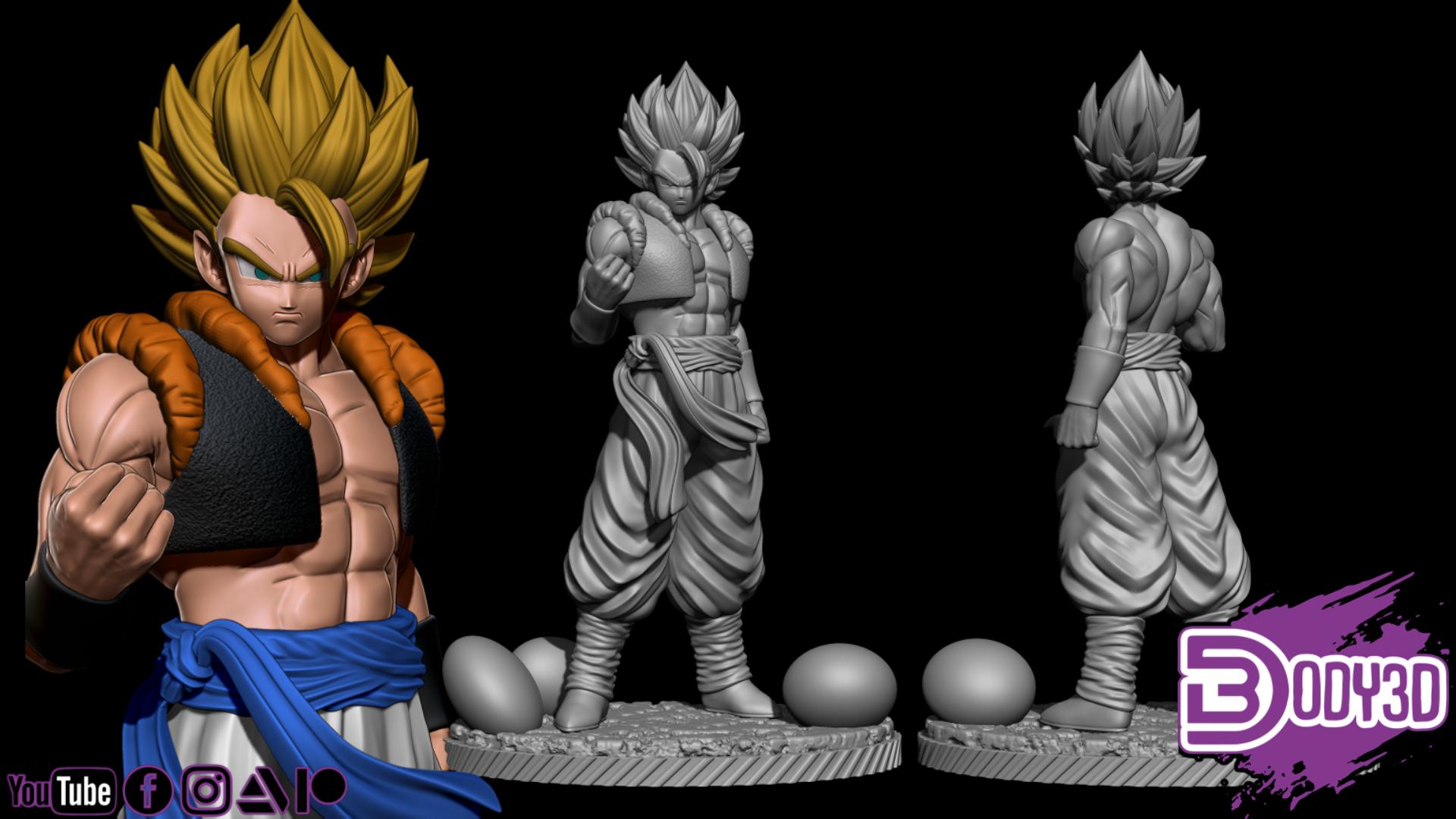 fgdsgdgdgsg.png Télécharger fichier STL Bundle Gogeta - Dragon Ball • Design pour impression 3D, BODY3D