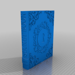 Secret_Book.png Download free STL file Secret Book • 3D printer model, BODY3D