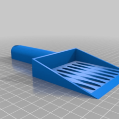 Download free 3D printer designs Litter Shovel Customizable, BODY3D