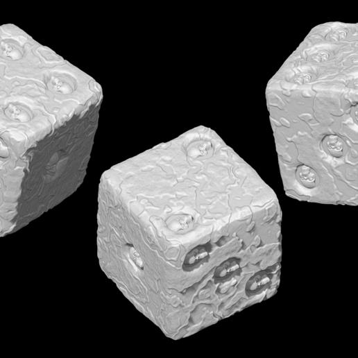 Download free STL file Skull Dice • 3D printable design, BODY3D