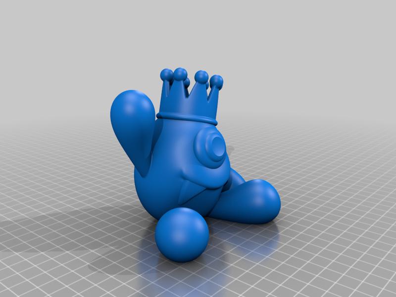 Ptit_monstre.png Télécharger fichier STL gratuit Monstre Cool • Design pour imprimante 3D, BODY3D