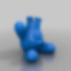 Ptit_monstre.stl Télécharger fichier STL gratuit Monstre Cool • Design pour imprimante 3D, BODY3D