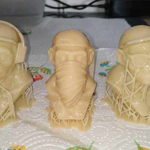 91629292_519908942040681_2317811373670662144_o.jpg Télécharger fichier STL 3 Wise Monkeys • Modèle pour imprimante 3D, BODY3D
