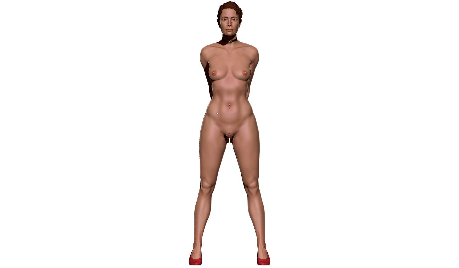 aaaaaa.png Télécharger fichier STL Little Caprice Pose 2 • Objet imprimable en 3D, BODY3D