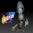Décomposé_1.PNG.png Télécharger fichier STL gratuit Calimero • Objet pour impression 3D, BODY3D