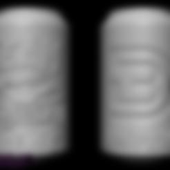 TEAM_BODY3D_Can.stl Télécharger fichier STL gratuit TEAM BODY3D peut - sans coeur • Plan imprimable en 3D, BODY3D