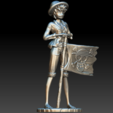 Luffy.PNG Download free STL file Monkey D Luffy • 3D printing object, BODY3D