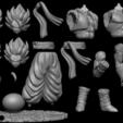 fdsgdgsgdfgs.png Télécharger fichier STL Bundle Gogeta - Dragon Ball • Design pour impression 3D, BODY3D