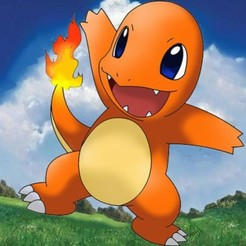 Download free STL file Pokemon - Salameche HD ( Charmander ), BODY3D