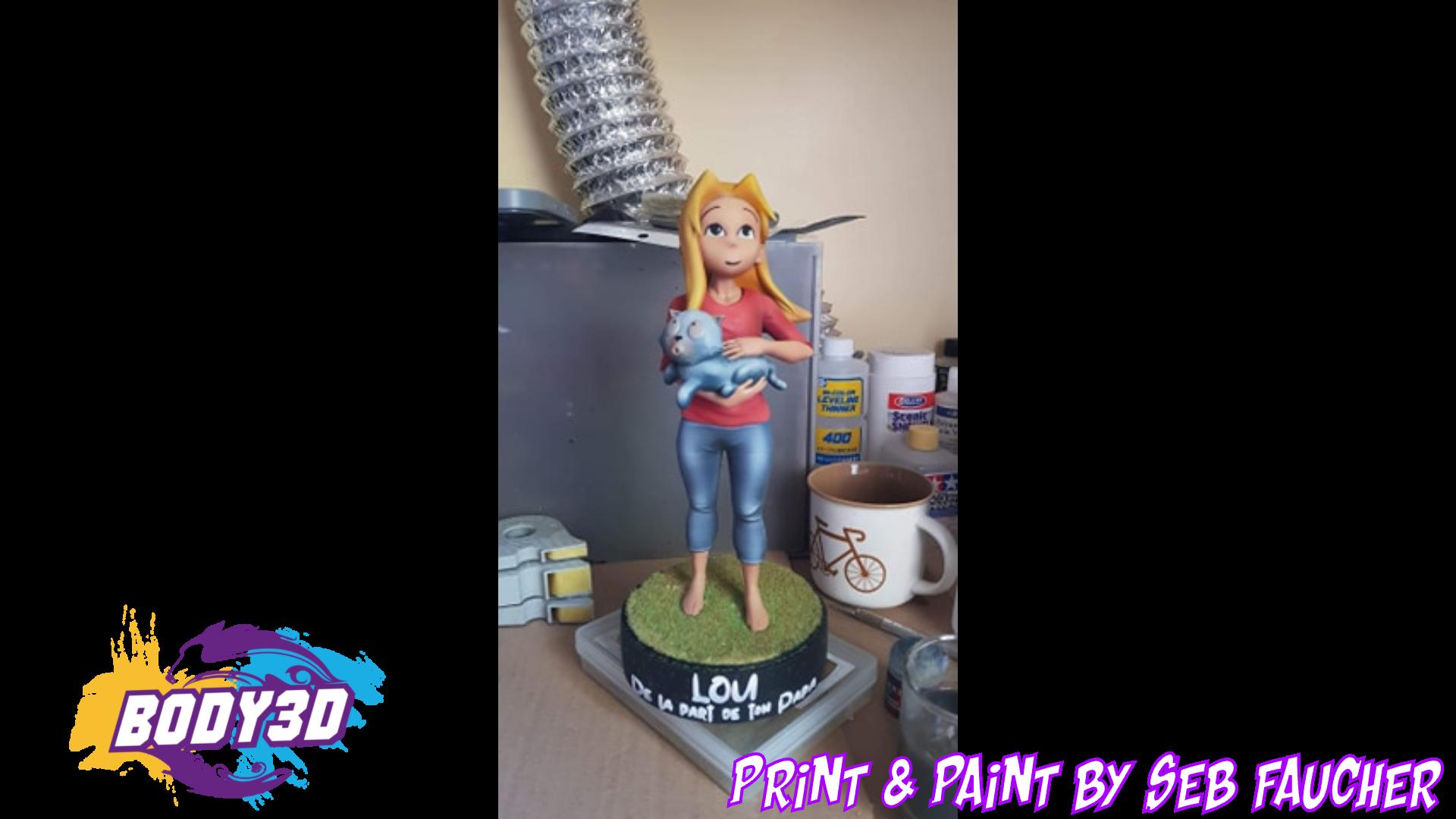 sdqfqsfdsfqsf.png Télécharger fichier STL Lou - BD • Modèle à imprimer en 3D, BODY3D