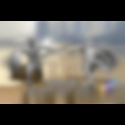 Spartan_Jump_2_-_35_mm.stl Télécharger fichier STL gratuit Spartans jump - Miniature 28mm 35mm 50mm • Plan pour impression 3D, BODY3D