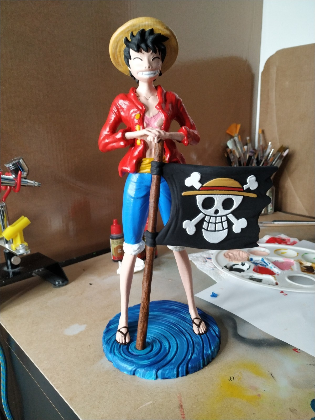 IMG_20190321_235726.jpg Download free STL file Monkey D Luffy • 3D printing object, BODY3D