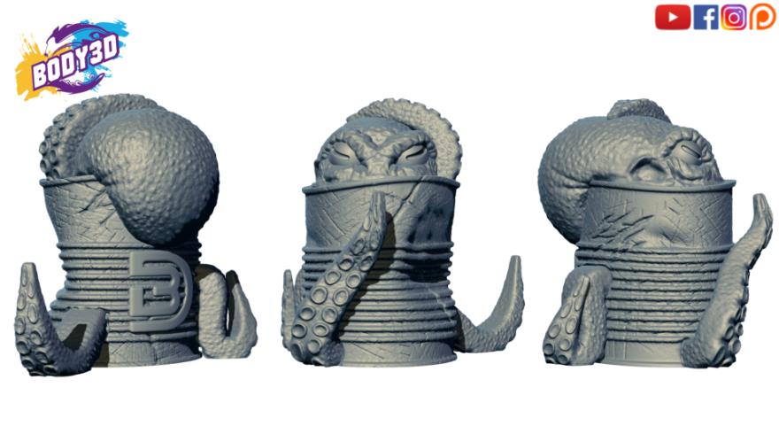lol2.png Télécharger fichier STL gratuit Octody • Modèle imprimable en 3D, BODY3D