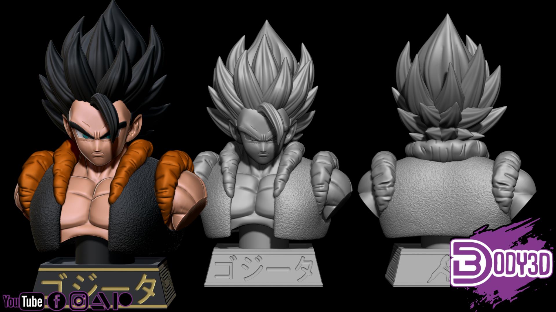 hdfgfdsgfdghfdgs.png Télécharger fichier STL Bundle Gogeta - Dragon Ball • Design pour impression 3D, BODY3D