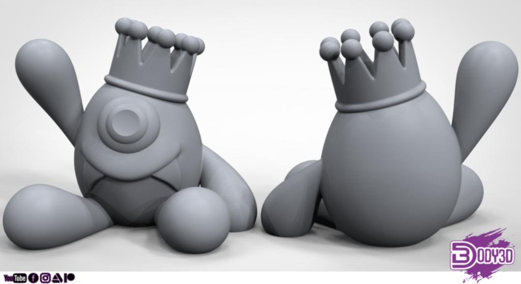 gfdgdghd.png Télécharger fichier STL gratuit Monstre Cool • Design pour imprimante 3D, BODY3D
