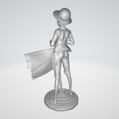 Model 3.PNG Download free STL file Monkey D Luffy • 3D printing object, BODY3D
