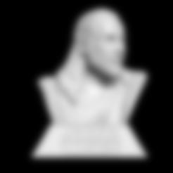 QUI-GON-JINN BUST - BUST.stl Télécharger fichier STL Qui-Gon Jinn Bust • Objet pour imprimante 3D, BODY3D