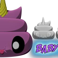 Download free STL file Baby Poo • 3D printer object, BODY3D