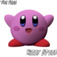 1.png Télécharger fichier STL gratuit Kirby - Pas de soutien • Modèle imprimable en 3D, BODY3D