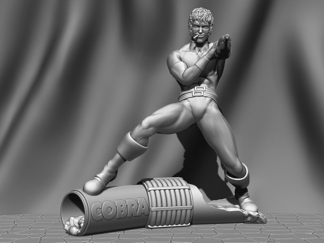 hhssgd.png Télécharger fichier STL Cobra FanArt • Modèle à imprimer en 3D, BODY3D