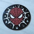 DSCN1140.JPG Download free STL file Spiderman Clock • 3D print object, BODY3D